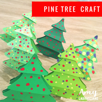 Pine Tree/ Christmas Tree Craft