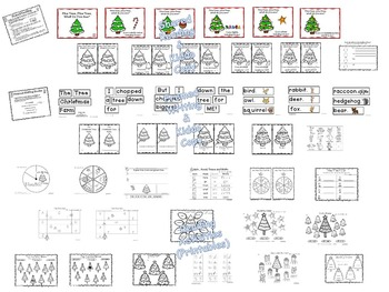 Kindness-Pine Tree Forest of Activities - Kiddos Connect All-Year to Kindness