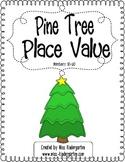 Pine Tree Place Value Freebie