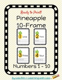 Pineapple 10-Frame Cards