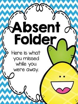 Pineapple Absent Folders