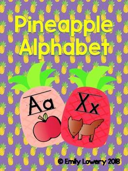 Pineapple Alphabet