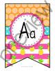 Pineapple Alphabet Posters
