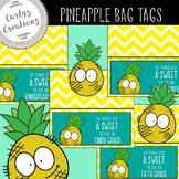 Pineapple Goodie Bag Tags