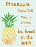 Pineapple...Be Sweet on the Inside!