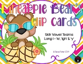Pineapple Bear's Vowel Team Long I - 'ie', 'igh' & 'y' Clip Cards