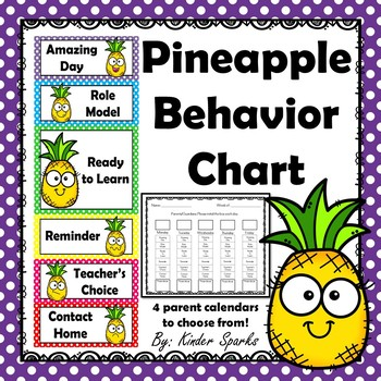 Pineapple Behavior Chart