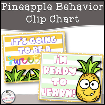 Pineapple Behavior Clip Chart
