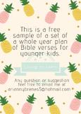 Pineapple Themed Bible Verses -Free sample