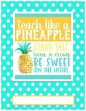 Pineapple Binder Cover