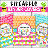 Pineapple Binder Covers