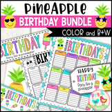 Pineapple Birthday Bundle