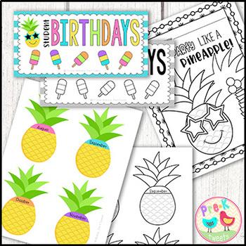 Pineapple Birthday Bundle