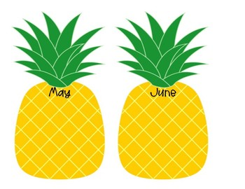 Pineapple Birthday Chart