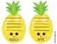 Pineapple Student Birthday Display