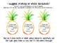 Pineapple Birthday Pencil Topper Editable FREEBIE