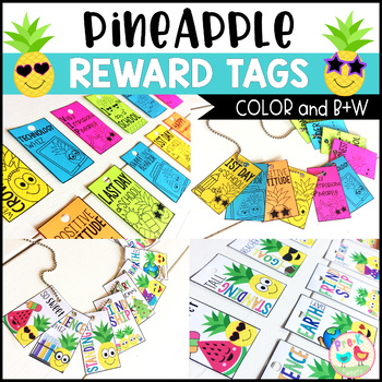 Pineapple Brag Tags