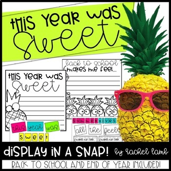 Pineapple Bulletin Board for Back to School or End of Year