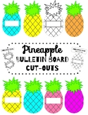 Pineapple Bulletin Board Cut-outs