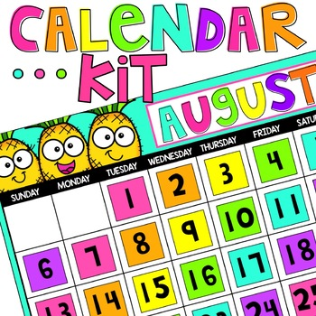 Pineapple Calendar Kit
