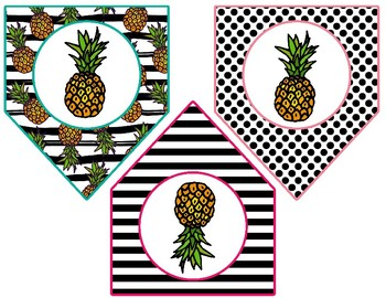 Pineapple Chic Collection: Arrowhead Bunting Banner