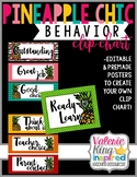 Pineapple Chic Collection: Behavior Clip Chart