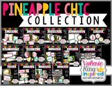 Pineapple Chic Collection: Classroom Decor Bundle