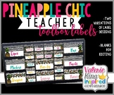 Pineapple Chic Collection: Teacher Toolbox