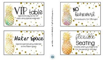 Pineapple Class Dojo Rewards