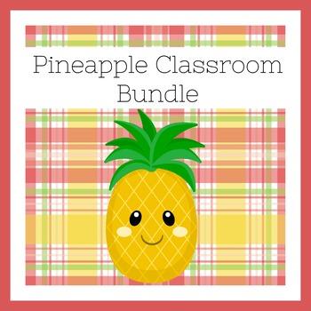 Pineapple Classroom BUNDLE   Pineapple BUNDLE