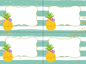 Pineapple Classroom Bundle