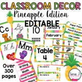 Pineapple Classroom Decor