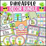 Pineapple Classroom Decor Bundle