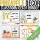 Pineapple Classroom Decor Bundle EDITABLE, Pineapple Themed Classroom
