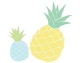 Pineapple Classroom Decor - Cutouts & Borders