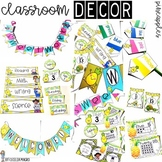 Pineapple Classroom Decor *EDITABLE*