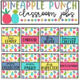 Pineapple Classroom Decor Editable Class Jobs