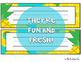 Pineapple Classroom Decor: Editable Name Tags/Plates