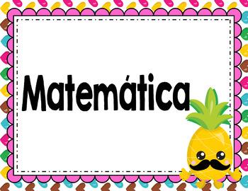 Pineapple Classroom Decor Part 1 (SPANISH)