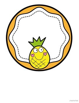 original-2706681-3 Teachers Welcome Letter Template Pinapple Theme on