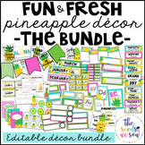 Pineapple Classroom Decor: The Bundle