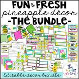 Pineapple Classroom Decor: The Bundle