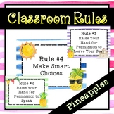 Pineapple Classroom Rules