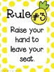 Pineapple Classroom Rules: Whole Brain