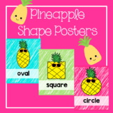Pineapple Classroom Decor Shape Posters