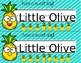 Pineapple Classroom Tag & Label Set - Editable!!