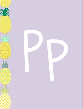 Pineapple Classroom Theme (3 Colors)