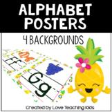 Pineapple Classroom Theme- Alphabet Posters