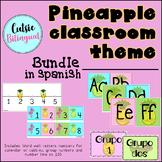 Pineapple Classroom Theme Bundle - Spanish
