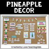 Pineapple Classroom Decor Editable